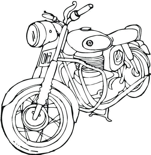 The Best Free Harley Davidson Drawing Images Download From 1048