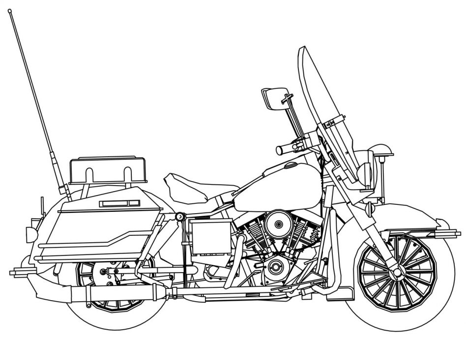 948x688 Harley Davidson Coloring Pages With Wallpapers Mobile
