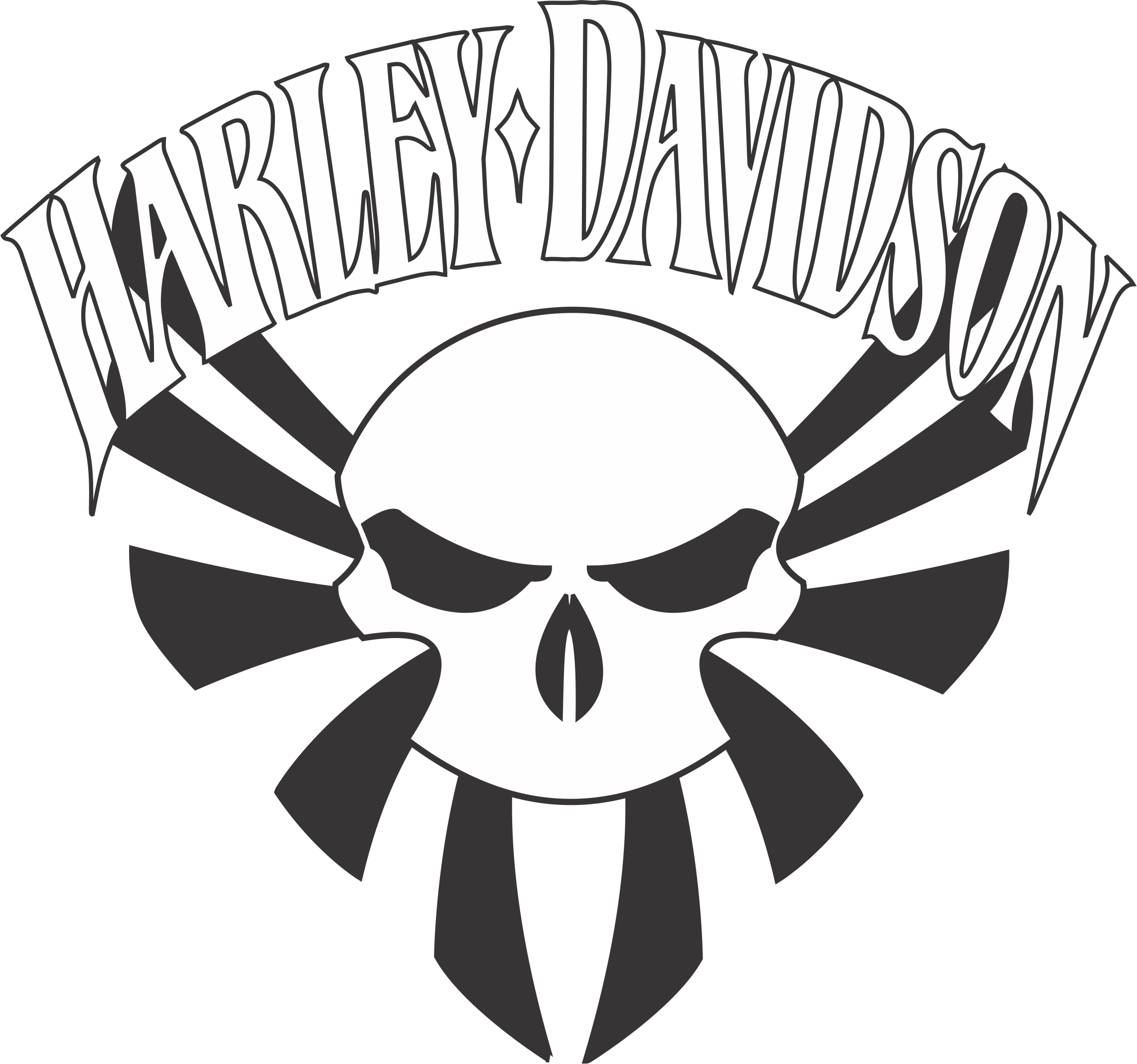 Harley Davidson Drawing Outline at GetDrawings.com | Free ...