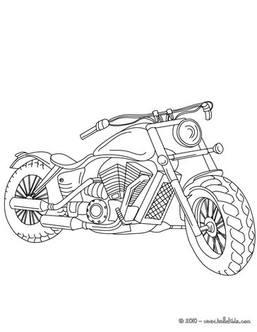 364x470 Harley Davidson Coloring Page Crafts For Kids