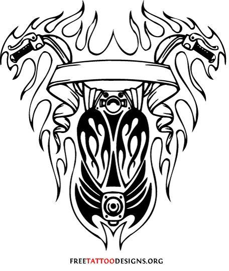 Harley Davidson Logo Drawing