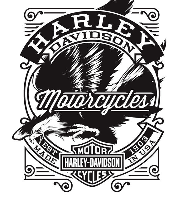 600x632 Harley Davidson On Behance