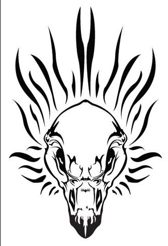 334x488 Harley Davidson Eagle Skull By Lynntendo