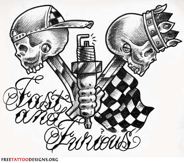 600x532 Biker And Harley Davidson Tattoos