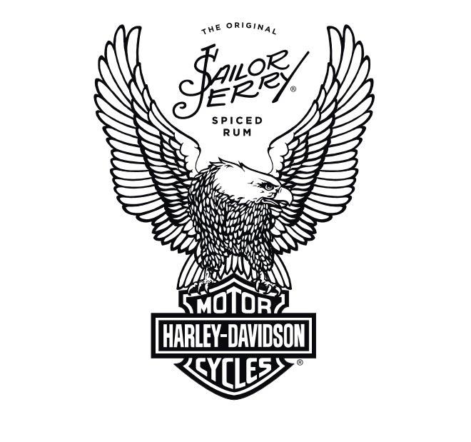 660x619 Sailor Jerry Announces Partnership With Harley Davidson