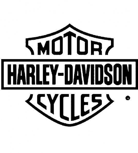 537x595 Pictures Of Harley Davidson Logos Autocollant Harley Davidson