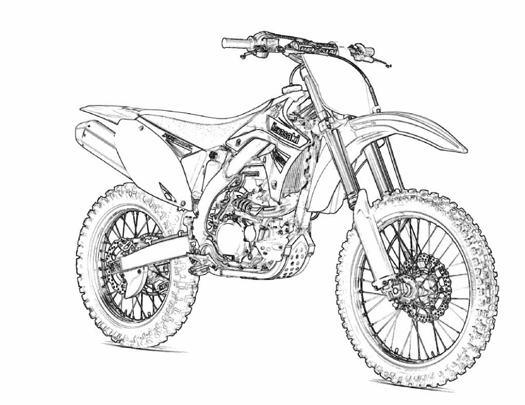 1024x791 Grand Free Printable Motorcycle Coloring Pages Harley Davidson
