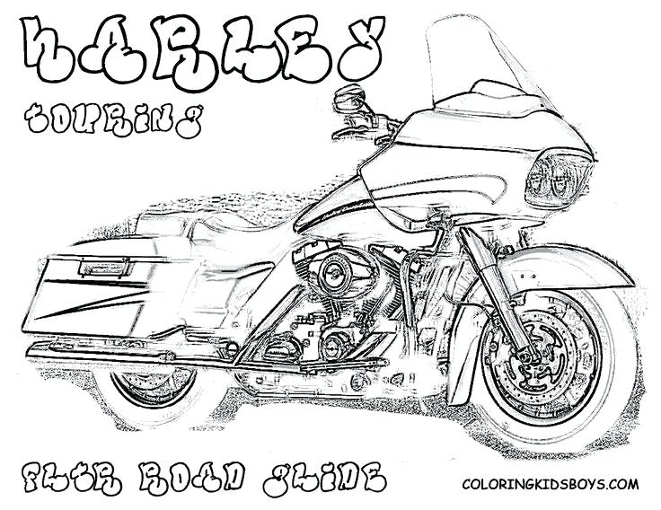 736x568 Harley Davidson Coloring Book Plus Motorcycles Drawings The My