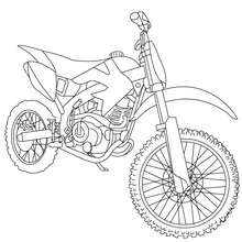 220x220 Harley Davidson Motorcycle Coloring Pages