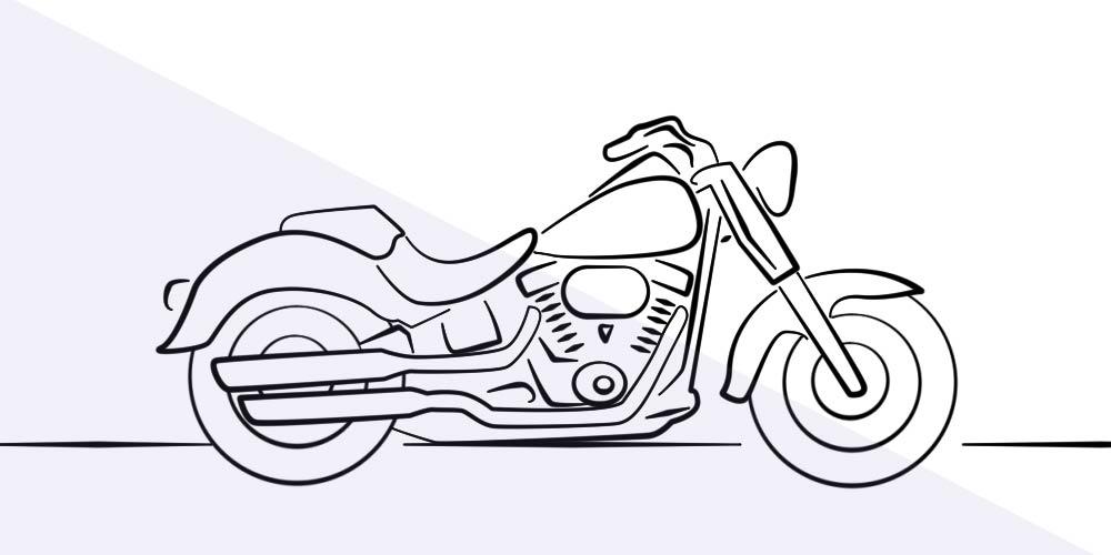 Bike Tank Drawing