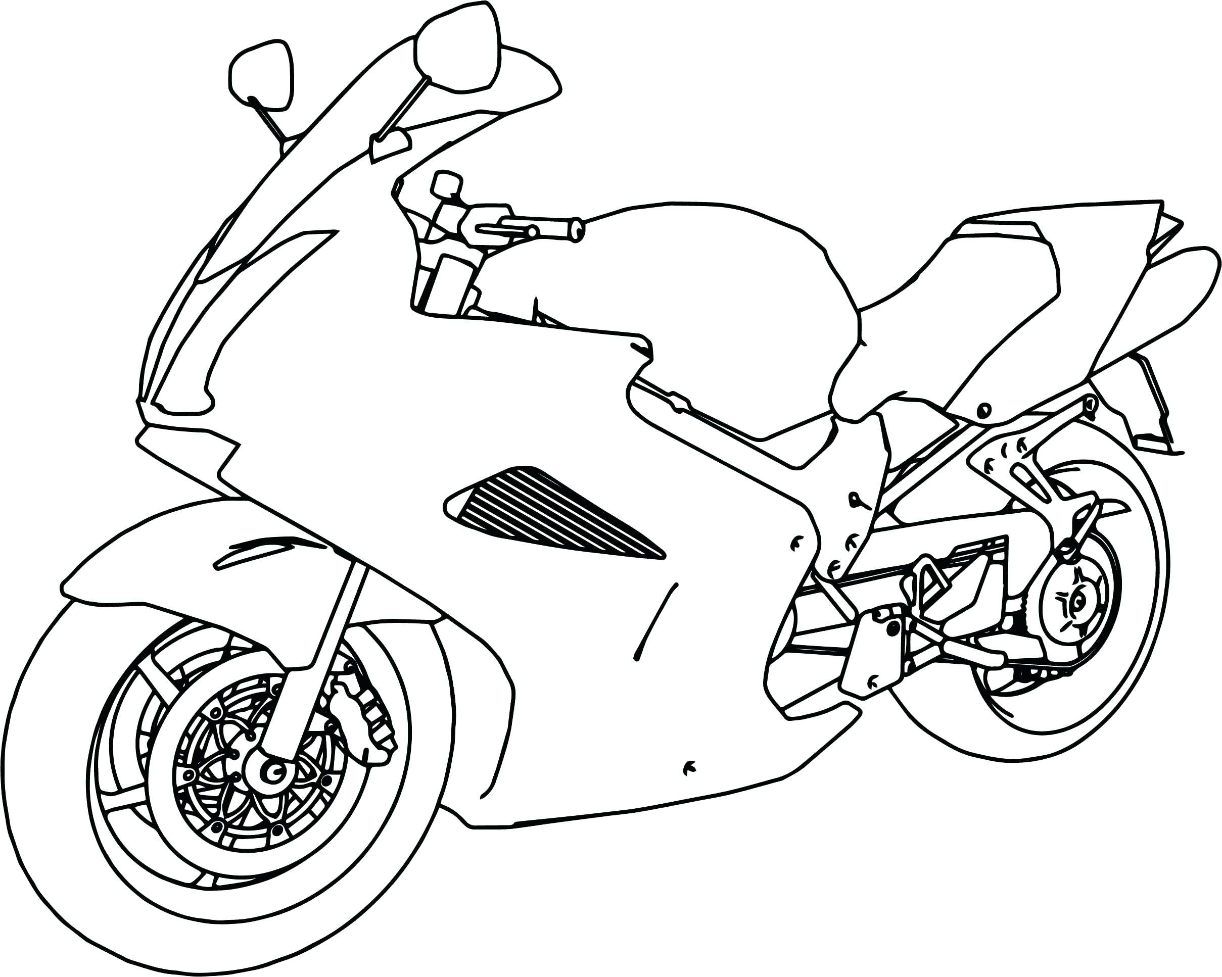 2418x1934 Coloring Coloring Pages Motorcycle