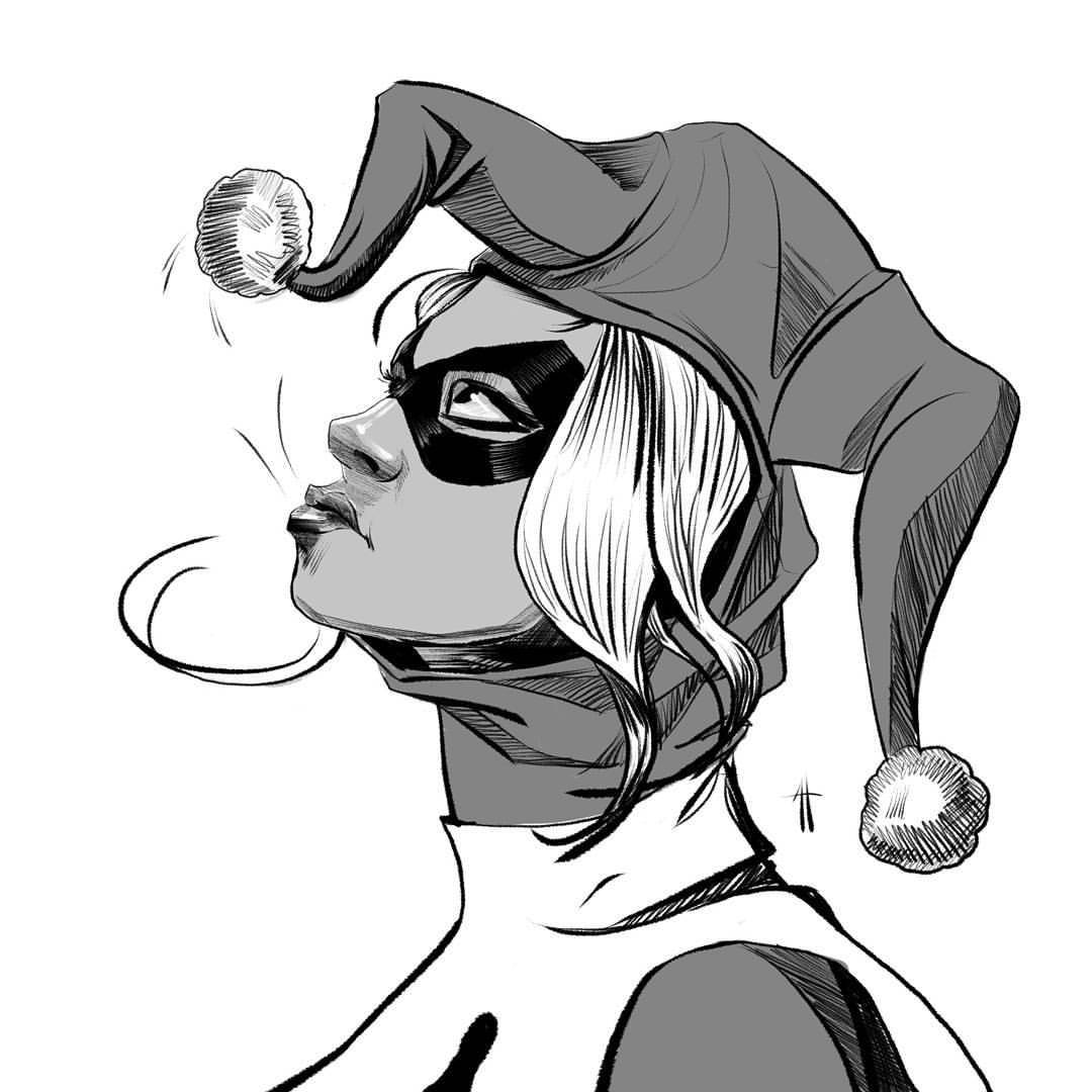 Harley Drawing