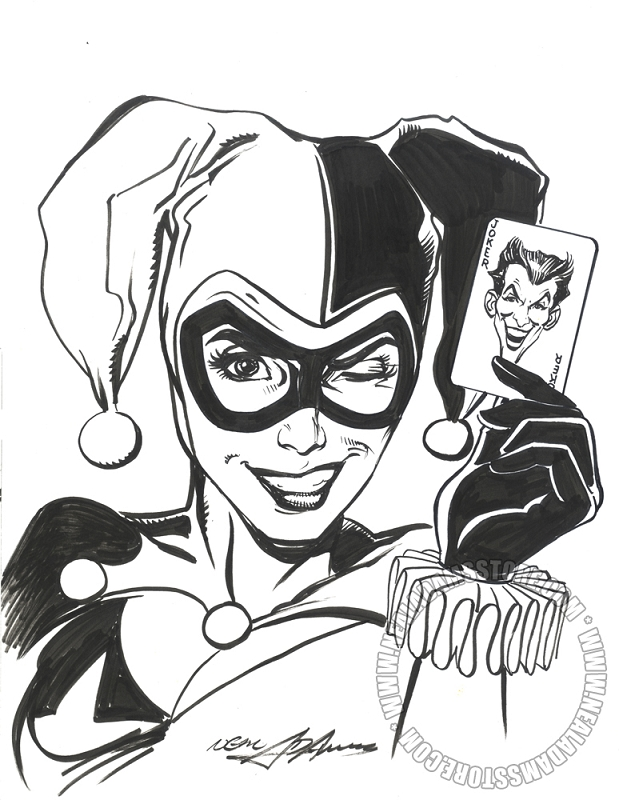619x800 Harley Quinn