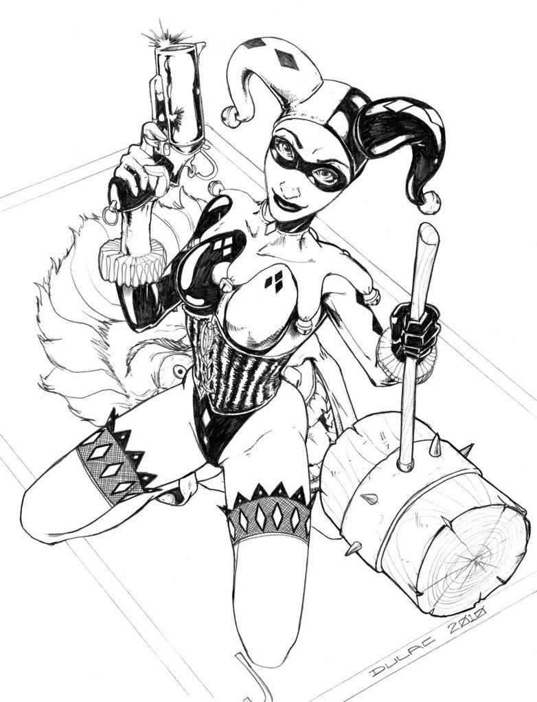 782x1022 Harley Quinn By Magnuson24