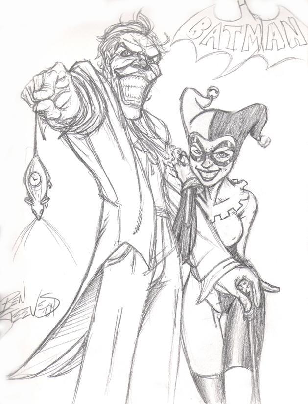 629x824 Joker And Harley By Dangerface On Harley Quinn