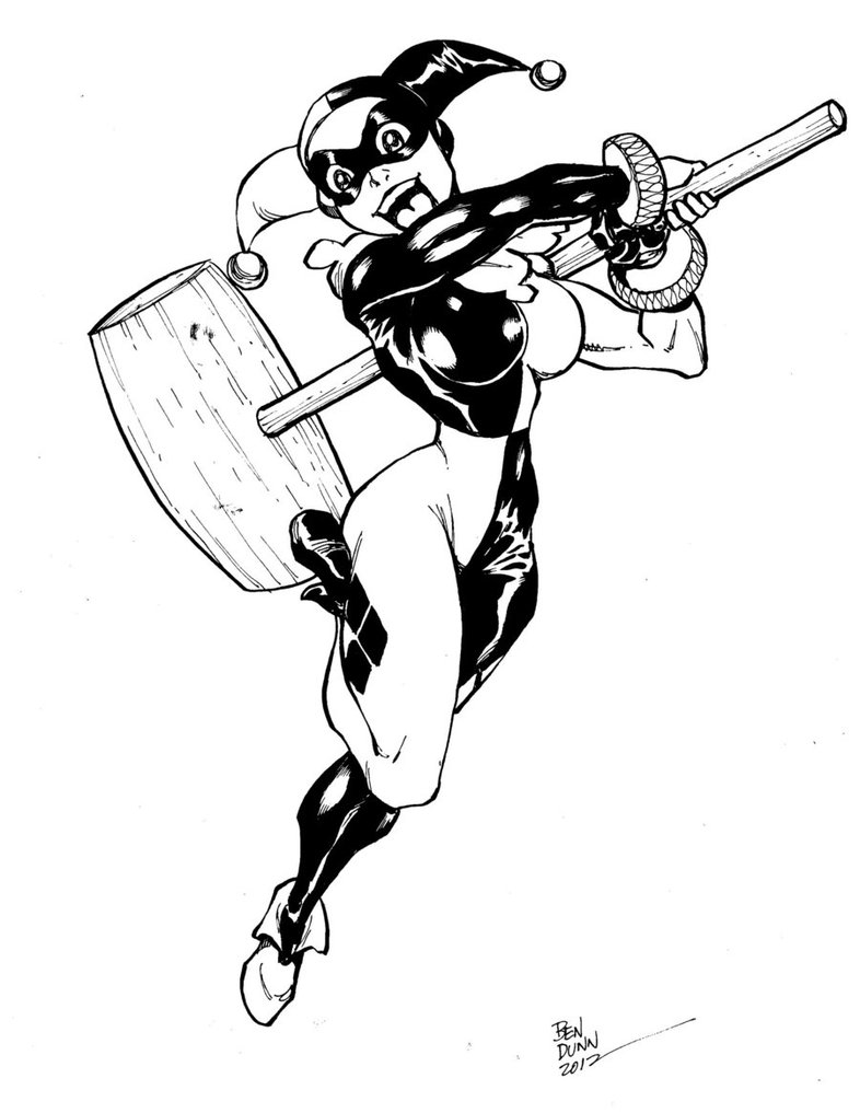 786x1017 Harley Quinn Commission By Dogsupreme