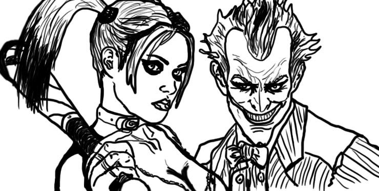 740x374 Harley Quinn And Joker By Koifishasylum