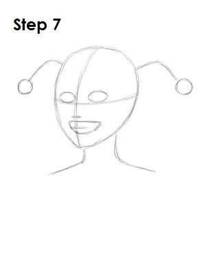 300x388 How To Draw Harley Quinn