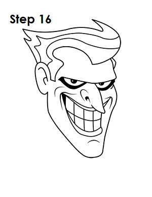 300x388 How To Draw The Joker