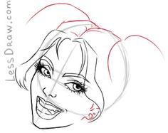 236x187 Harley Quinn Watercolor Dessins