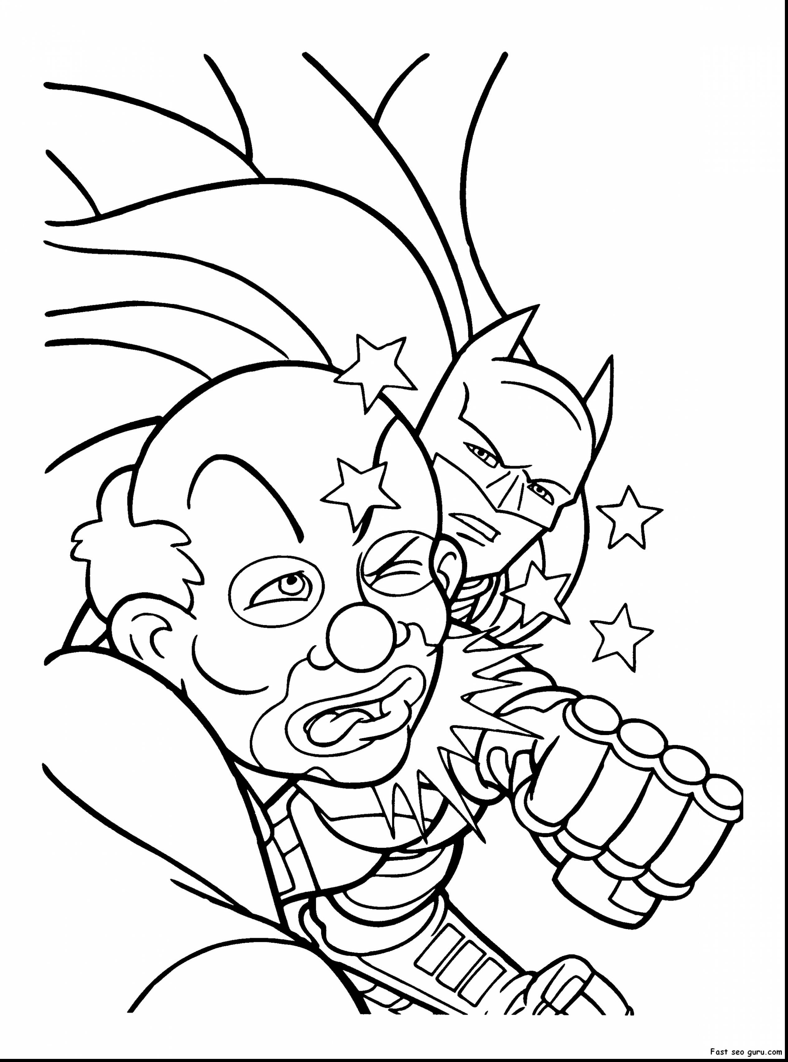 2530x3410 Surprising Joker Coloring Pages Printable With Harley Quinn