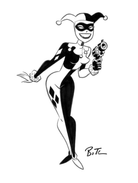 You Joker and harley quinn bruce timm you tried?