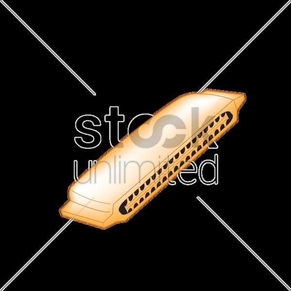600x600 Free Harmonica Vector Image