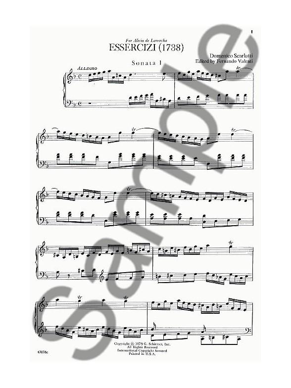 588x784 Domenico Scarlatti Essercizi