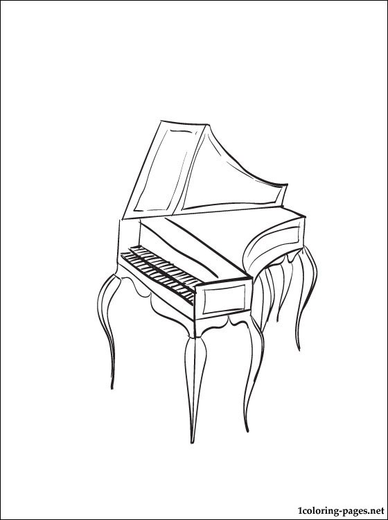 560x750 Harpsichord To Color The Story Of The Orchestra