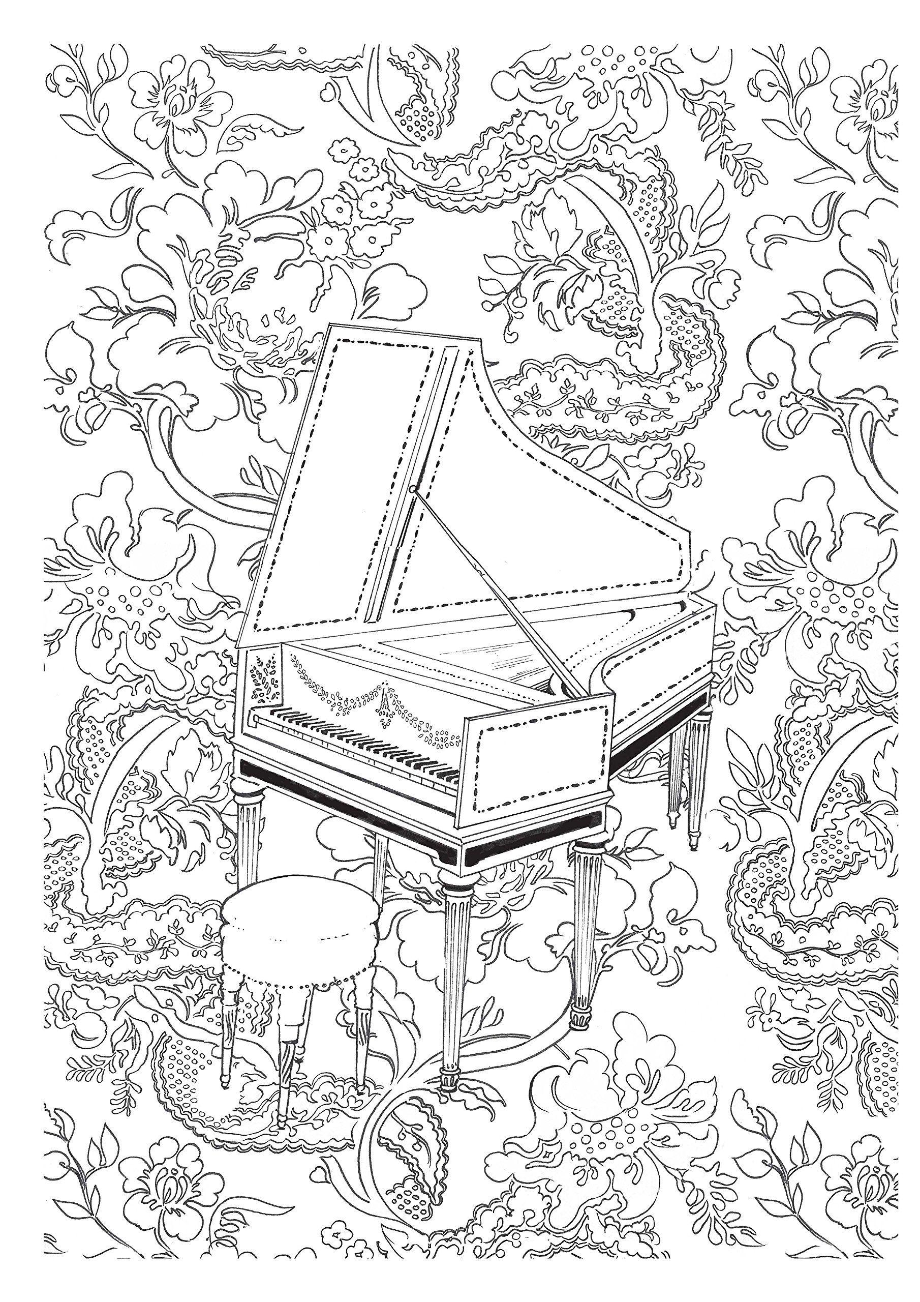 1810x2560 Art Therapie A La Cour Du Roi 100 Coloriages Anti