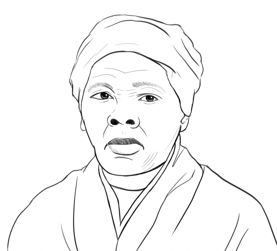 948x859 Harriet Tubman Coloring Page With Wallpapers Full Hd
