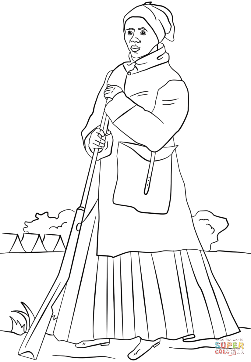 824x1186 Harriet Tubman Coloring Pages