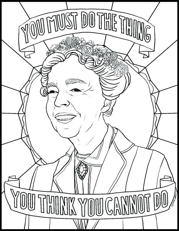 570x738 Harriet Tubman Coloring Pages Printable Also Coloring Pages