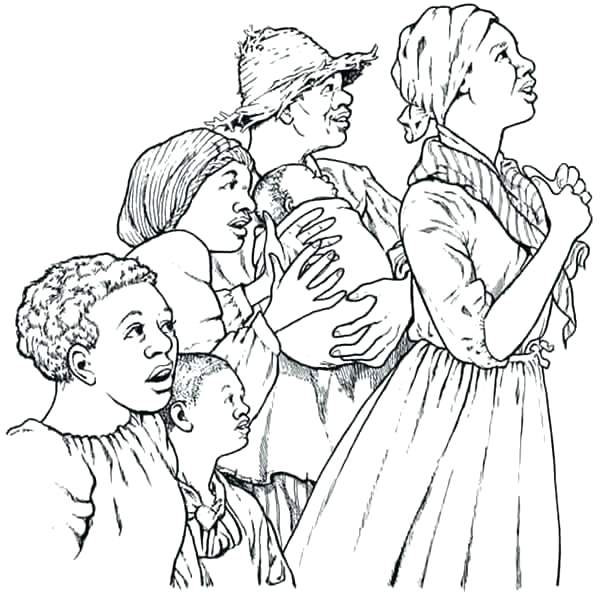 600x592 Harriet Tubman Coloring Pages Printable And Coloring Pages