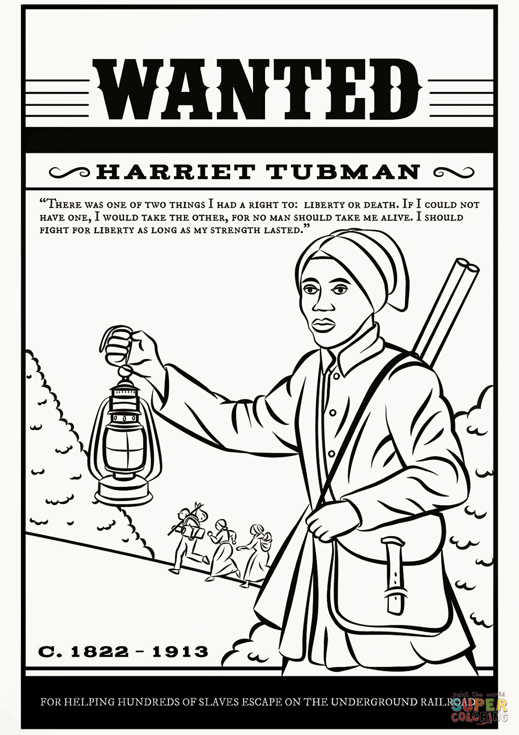 1060x1500 Harriet Tubman Coloring Page Free Printable Coloring Pages
