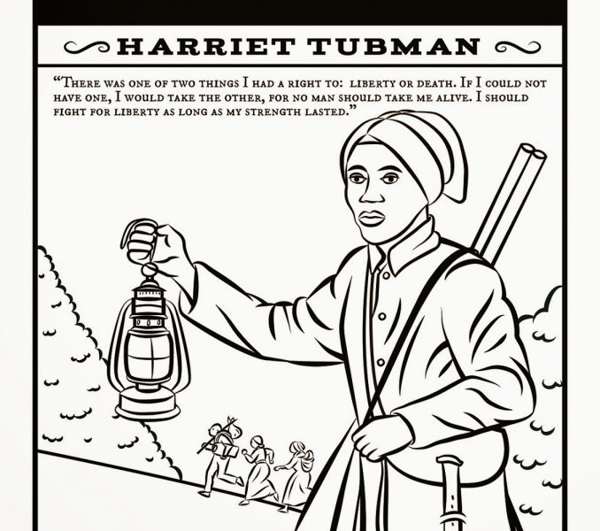 678x600 Underground Railroad Coloring Pages Coloring Page For Kids