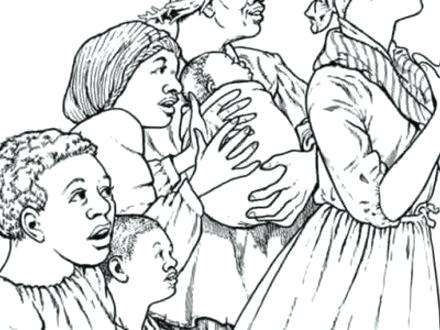 440x330 Coloring Page For Harriet Tubman Plus Coloring Pages Coloring Home