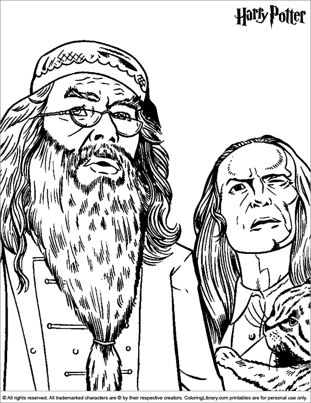 612x792 Harry Potter Coloring Page Coloring Harry Potter