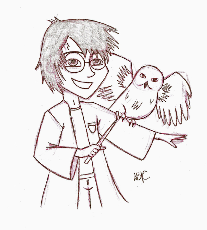 700x778 Harry Potter Sketch By Itslikebia
