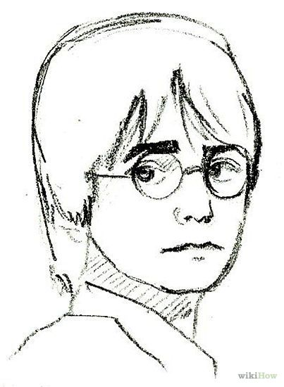 403x550 The Best Harry Potter Drawings Easy Ideas