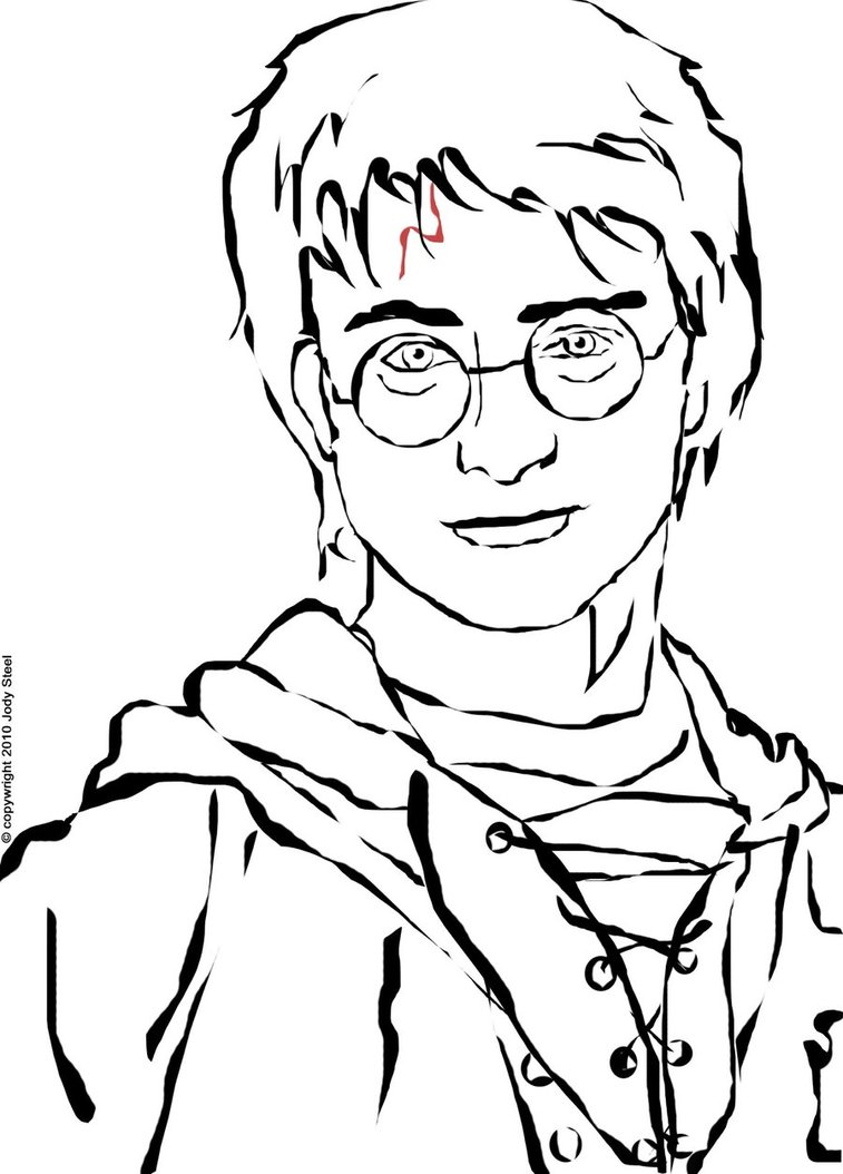 Harry Potter Cartoon Drawing At Getdrawings Com Free For