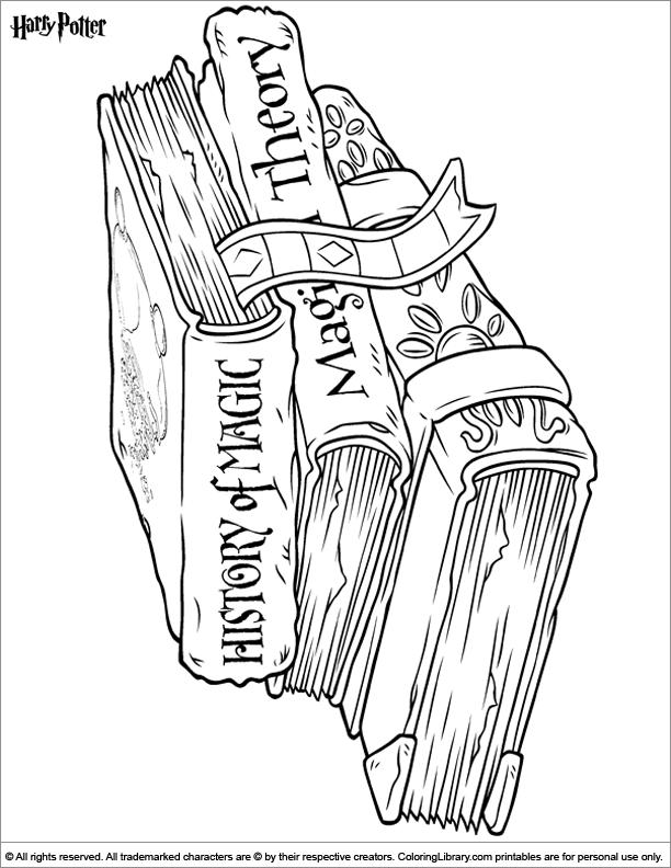 harry potter castle coloring pages - photo#26