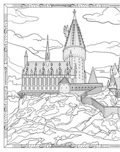236x299 Here's A Look Inside The Harry Potter Coloring Book Harry Potter