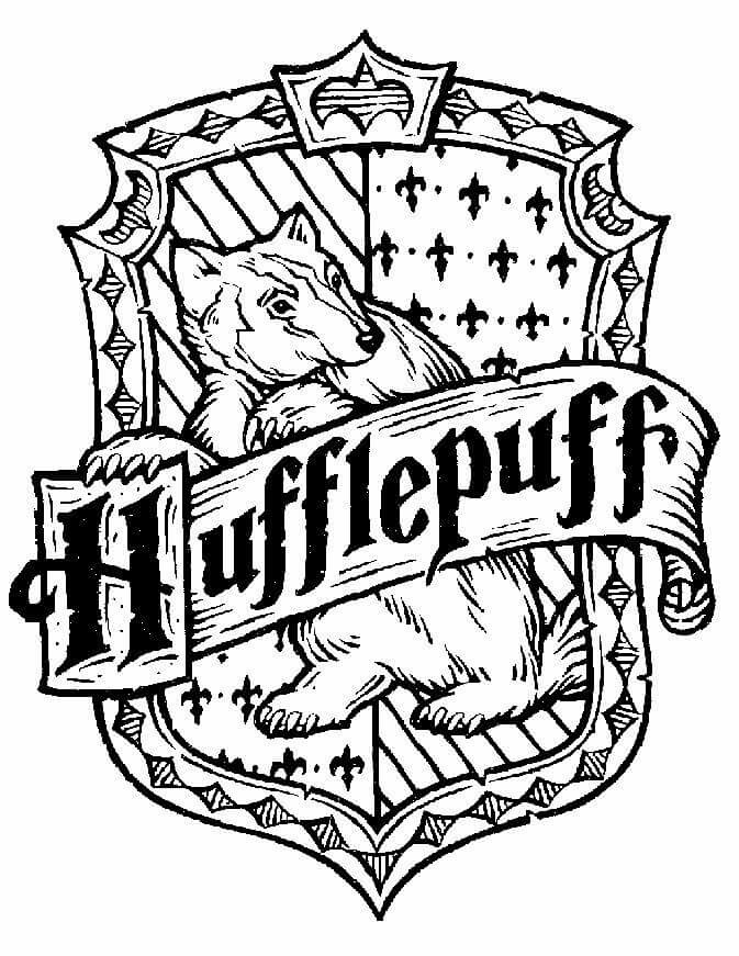 673x871 Hufflepuff House Coloring Pages 2