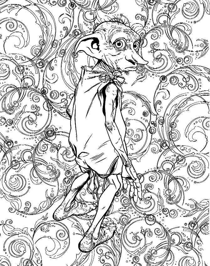670x850 Image Result For Harry Potter Adult Coloring Book Harry Potter