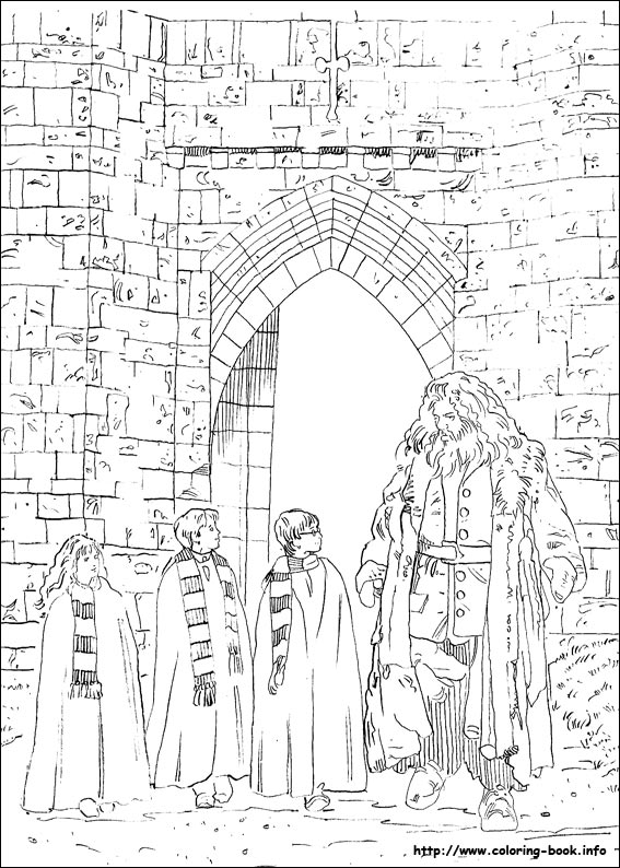 Harry Potter Castle Drawing at GetDrawings.com | Free for personal ...