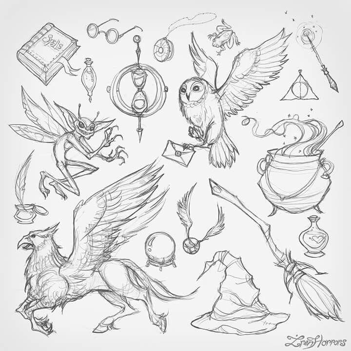 720x720 4803 Best Harry Potter Images On Hogwarts, Draw