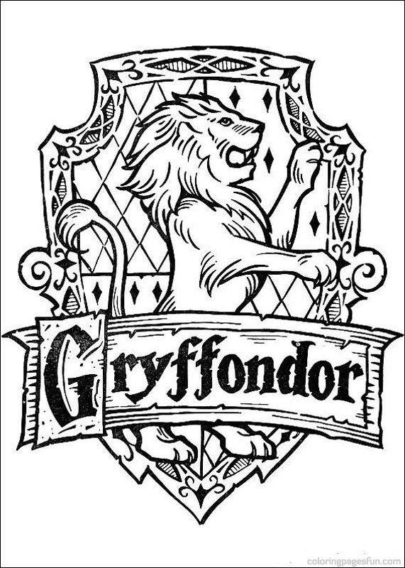 571x800 Harry Potter Coloring Pages 114 Geek Chic Party Ideas