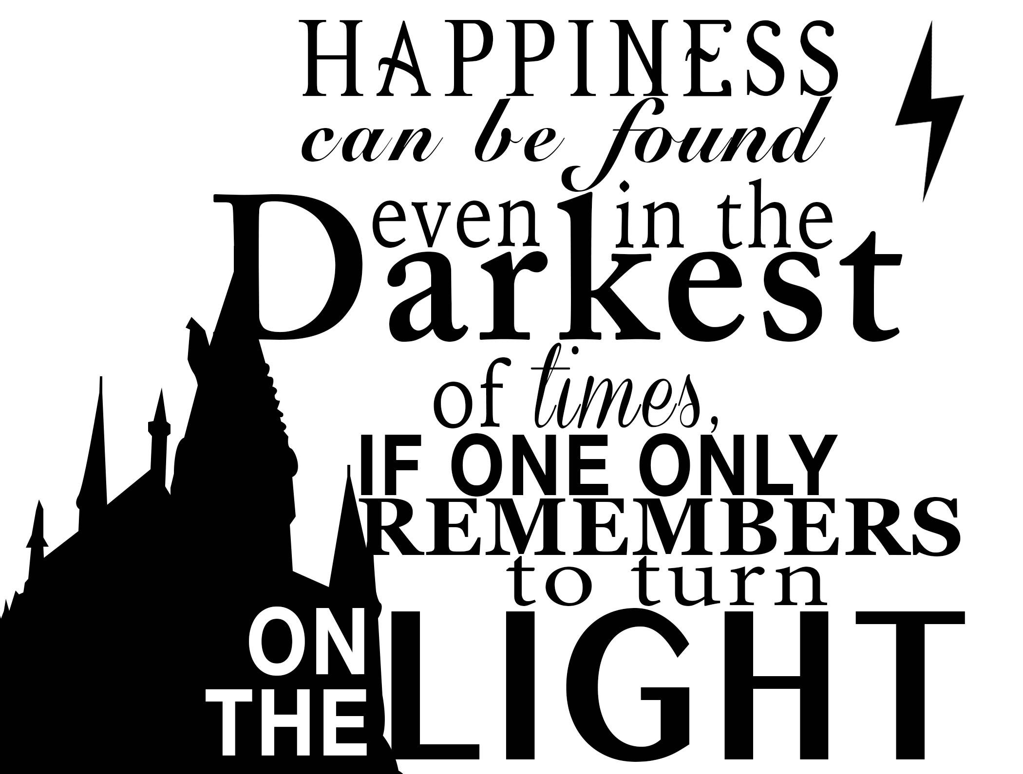 2100x1590 Harry Potter Dumbledore Quote Design For Silhouette Studio