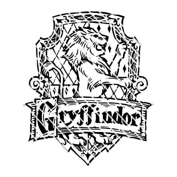 570x570 Harry Potter Gryffindor Crest